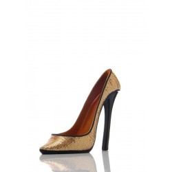Porte bouteille Chaussure - GOLD Ludi-Vin