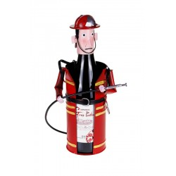 FIREMAN Metal Bottle Holder