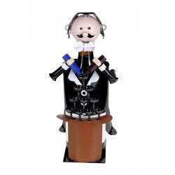 BARTENDER Metal Bottle Holder