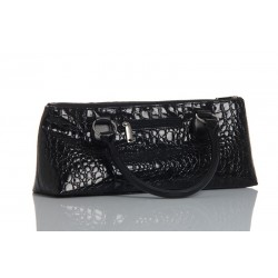 Sac HAUTE COUTURE isotherme 1 blle noir croco   tire-bouch