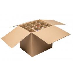 Leopard Designer Bag  1 Bottle Insulated with corkscrew