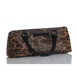 Sac HAUTE COUTURE isotherme 1 blle Leopard   tire-bouchons