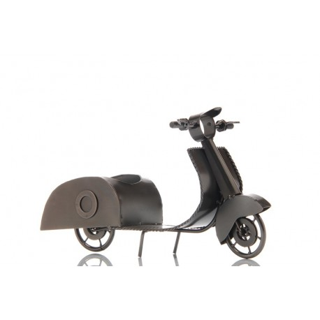 figurine porte bouteille metal scooter ludi vin vinolem. Black Bedroom Furniture Sets. Home Design Ideas