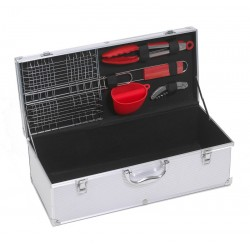 Grill Pary Aluminum Gift Box for 2 3 Bottles   accessories