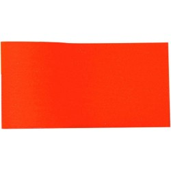Bobine de bolduc mat Orange