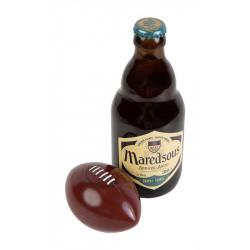 Bobine de bolduc mat Rouge