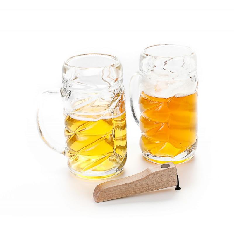 Coiffe de protection pour box 1 4 de palette EB Ecru