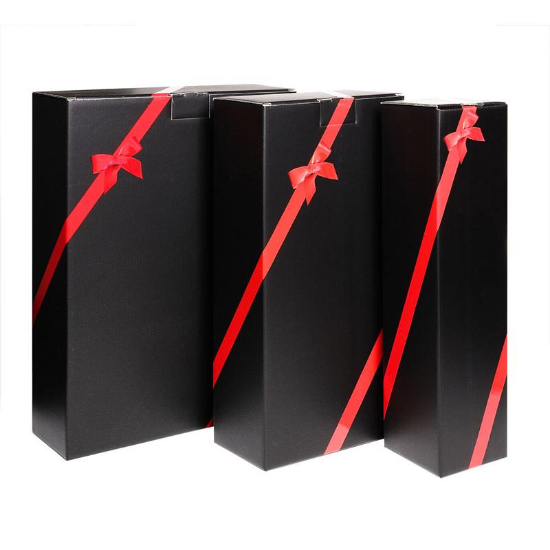 Coffret 1 magnum ecru cannele DimD 363x105x105mm