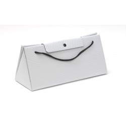 Sac triangle isotherme 1 blle Blanc