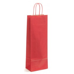 Sac kraft Verge rouge 1 blle