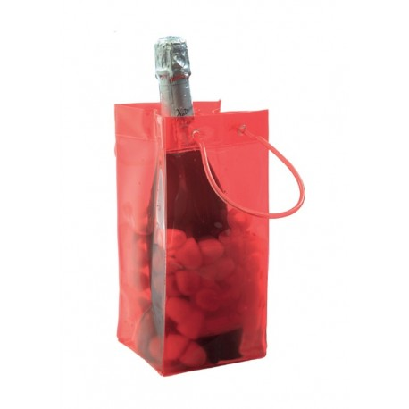 Sac a glacons Ice bag 4 faces rouges
