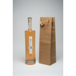 Kraft Paper Bag for 1 Jeroboam without windown  cord handle