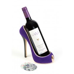 Ultra-Violet shoe Bottle Holder Ludi-Vin
