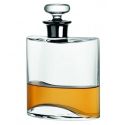 Flask Decanter 0D80L with platinum ring   gift box