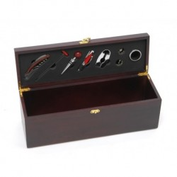 Wooden Gift Box for 1 Magnum with 8 accessories