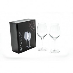 Gift box containing 2 - 35cl Exquisit Wine Glasses