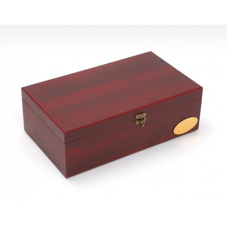 Bamboo Gift Box for 2 bottles BX with 7 accessories
